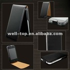 For iphone 4 4G 4S Leather Flip Skin Case Cover High Quality 10 colors available