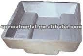 cast iron ingot mold/mould, cast pot, slag pot