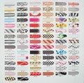 Venta al por mayor nuevos diseños de mezcla elegido 16 x1 pc paquete de uñas pegatinas de arte láminas parche consejos envuelve decoraciones sexy leopardo de impresión& 508