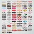 wholesale New mix designs chosen 16pcs x1 pack nails art stickers foils patch tips wraps decorations Sexy leopard print&508