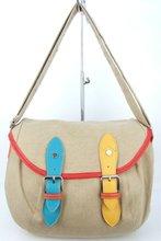 fashion canvas lady hand bag 2012