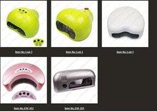 Moon Shape Sliver Color Led UV Curing Lamp Nail Gel Polisher Dryer Tool Fast Dryer Pro Fashion Salon Nails Product