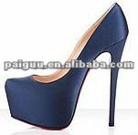 Sexy high heel women dress shoes 2012