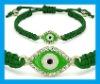 green string lucky eye bracelet HB057