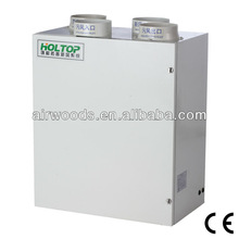 Energy saving wall type fresh air heat recovery ventilation system