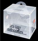 clear PP/PET/PVC wedding favor box