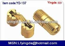 YD-(C)137 14mm Hot sale High quality Zinc alloy hinge Zinc alloy Concealed hinge Barrel hinge Cylinder hinge