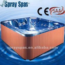 massage bathtub M-530D acrylic shell balboa control water massage jet filter cartridge CE SAA ISO outdoor bathtub