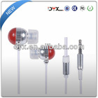 Fashionable design good sound quality low price colorful in-ear earbuds