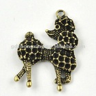 Dog product metal alloy jewelry tags