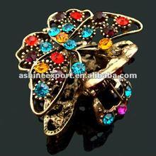 Mini butterfly hair claw clip/cheap hair accessories