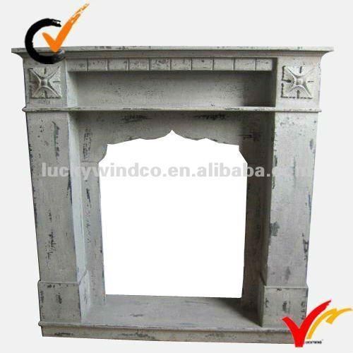 shabby chic in legno riciclato camino-Camino-Id prodotto:574665675 ...