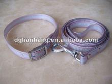 """colorfule Dog Leash 6 Foot 5/8"""" Wide TPU coated nylon webbing"""
