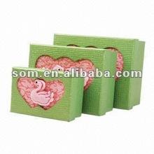 3pcs Paperboard Box Set