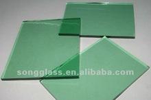 4MM 5MM 6MM Dark Green Tinted Float Glass