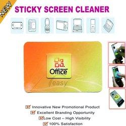 Adhesive microfiber screen cleaner,digi cleaner