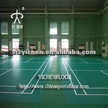 Portable Indoor Badminton Court Mat/PVC Sports Floor