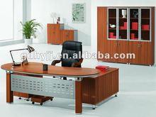 Top quality!Waterproof hot sales modern wooden melamine office desk with storage