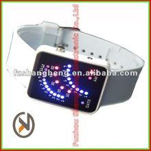 LED New Good Light up Mens Womens Wrist Fashion Watches 2012