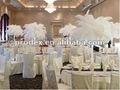 La nueva moda de plumas de avestruz PLUME para central de la boda