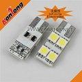 T10 194 W5W 4SMD 5050 Automobilbeleuchtung der endlosen Elektroden der Birne des Auto-LED
