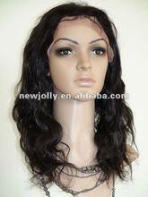 Pretty natural color afro 100% brazilian virgin hair wigs