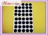 Permanent self adhesive velcro dots