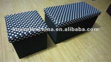 foldable ottoman box