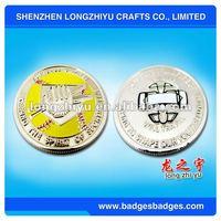 metal challenge coins