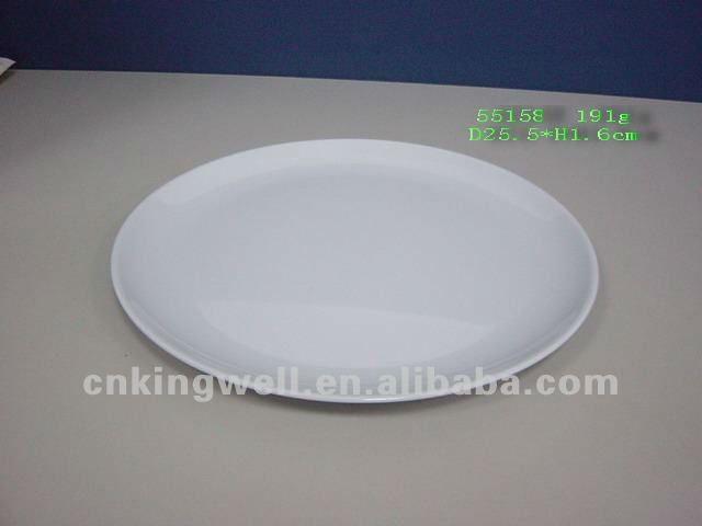 10 pulgadas placas de melamina platos para el restaurante