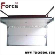 Finger-protect smart garage door with engine