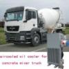 18L concrete mixer truck cooler,plate oil cooler,aluminum heat exchanger