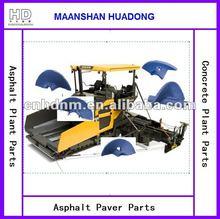 auger vane for asphalt paver road construction machinery equipment