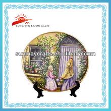 European style porcelain plates for home decoration