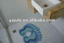 Natural Anti-slip Decorative carpet, Bathroom Floor rugs