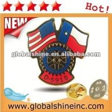 customized printing metal lapel pin badge emblem