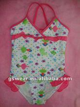 Stock girl's swimwear