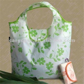 summer design laminated non woven foldable shopping bag
