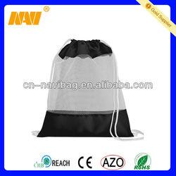 ployester mesh drawstring bag(NV-6046)