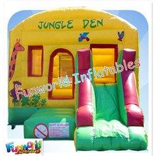 Inflatable hire jungle animals jumper castles (com-513)
