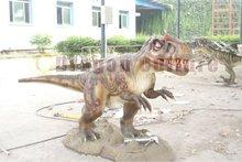 outdoor life-sized animatronics dinosaur playground equipment