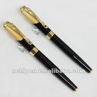 Metal roller ball pen set