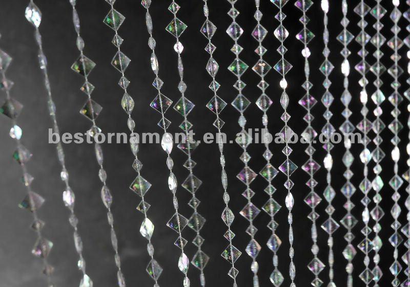 Rideaux perles rideau perle sur enperdresonlapin - Embrasse rideau castorama ...