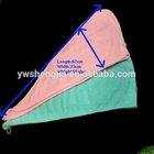 microfiber hair dry towel/cap/hat