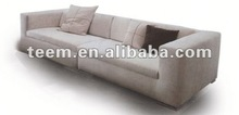 euro luxury sofa NO.1 rose leather sofa knitting fabric