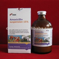 Amoxicillin injection 15% animal antibiotics sale