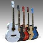 39'' Student Steel Strings Acoustic Cutaway Guitar