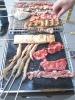 Ptfe coated fiberglass mesh fabric - get food grade used in BBQ