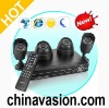 Complete DVR Surveillance System with 2x Indoor + 2x Outdoor Cameras (H.264)