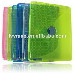 Wholesale TPU Gel Case for ipad 3 new ipad